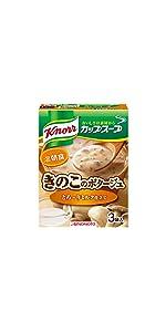 クノール カップスープ ミルク仕立てのきのこのポタージュ(3袋入)