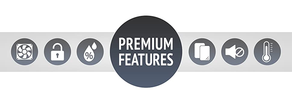 Ivation Wine cooler Premium Features mid banner