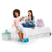 Cra-Z-Art, Shimmer 'N Sparkle, kids foot spa, kids foot bath, foot spa with massage, kids pedicure