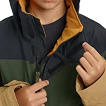 snowboard riding hiking sledding jacket coat warm comfort media goggle pocket handwarmer taffeta