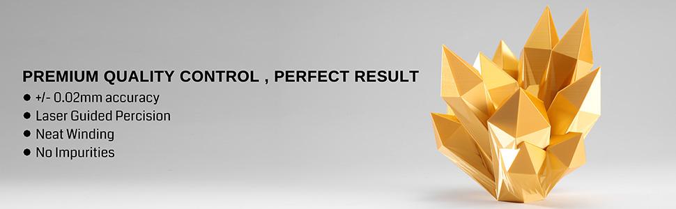 SainSmart PRO-3 SILK PLA Characteristics
