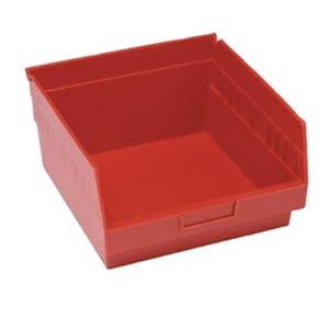 plastic shelf bin storage