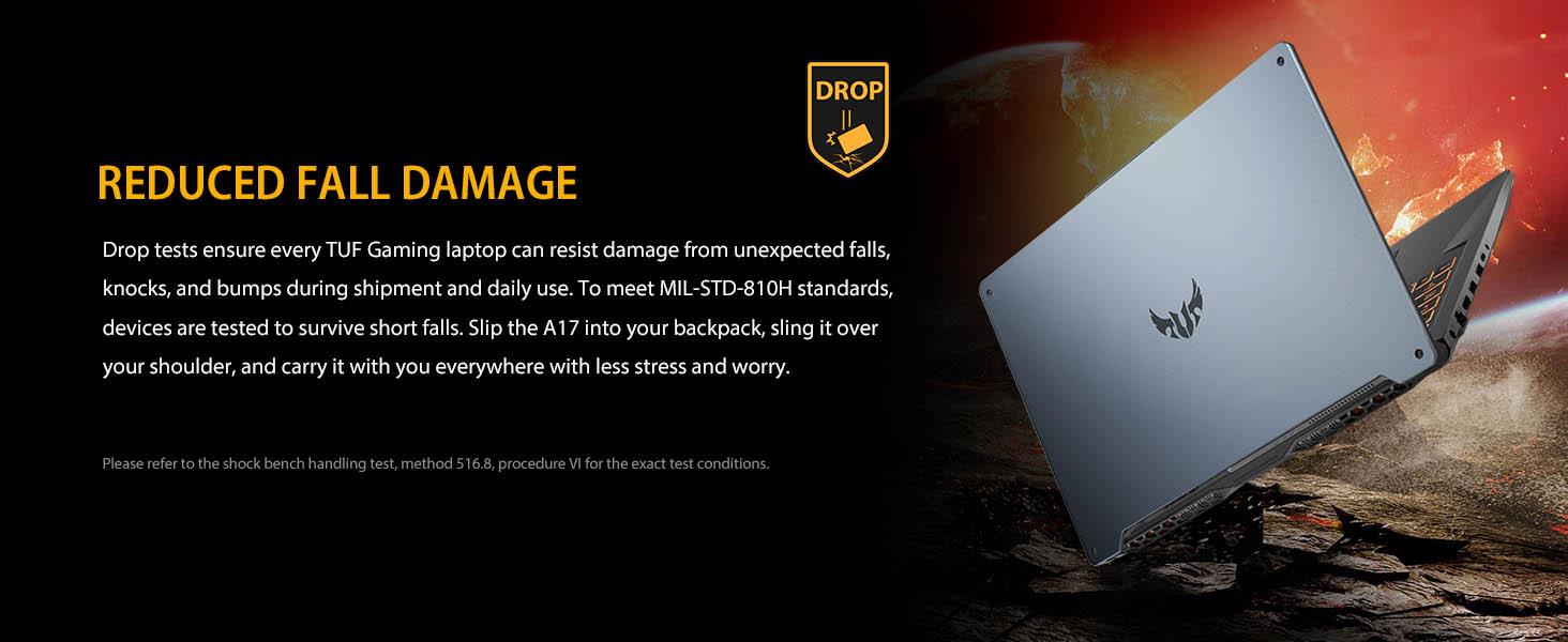reduced fall damage