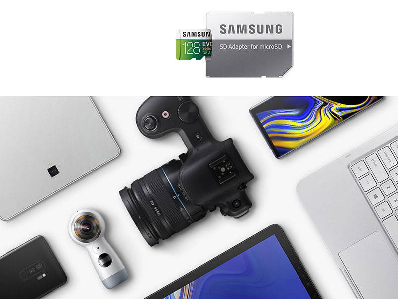 Samsung EVO Select Memory Card is compatible with most devices under almost every brand name