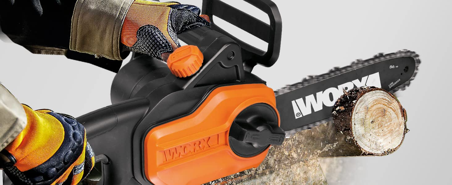 Durable, reliable performance, with more raw power than other pole saws in its class.
