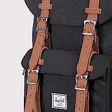 Little America Backpack Magnetic Buckles