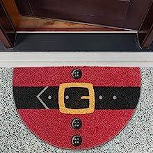 christmas decor home clearance door mat welcome shoe storage holiday kitchen rug doormat outdoor
