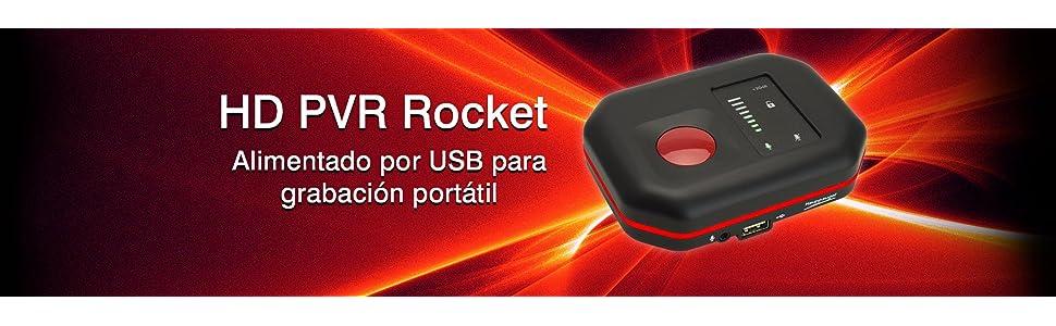 Hauppauge HD PVR Rocket - Capturadora de vídeo pc/consola, full HD ...