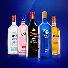 RIVES Pink ginebra botella 70 cl: Amazon.es: Alimentación y ...