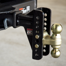 CURT Trailer Hitch Adjustable Channel Mount