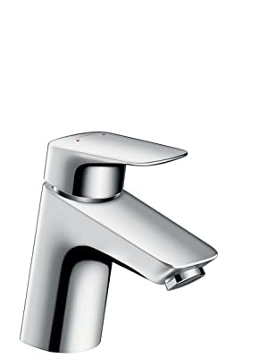 Top hansgrohe Logis basin mixer tap 70 with pop up waste, chrome VG06