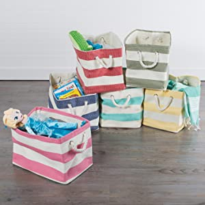 storage baskets dii basket collapsible polyester bins cube bin containers cubes large closet kids