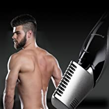 V-Shaped Trimmer Head for Hard-to-Reach Areas