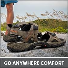 Go anywhere Comfort