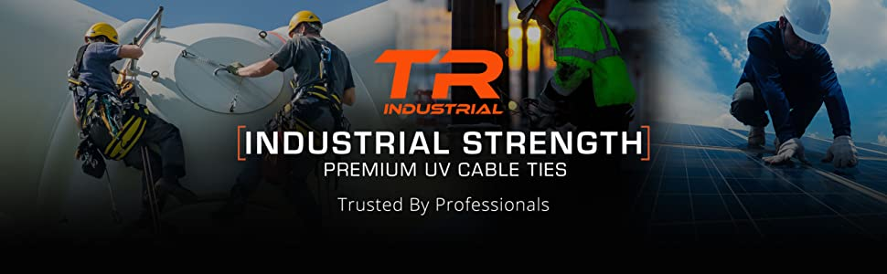 TR Industrial Industrial Strength Premium UV Cable Ties