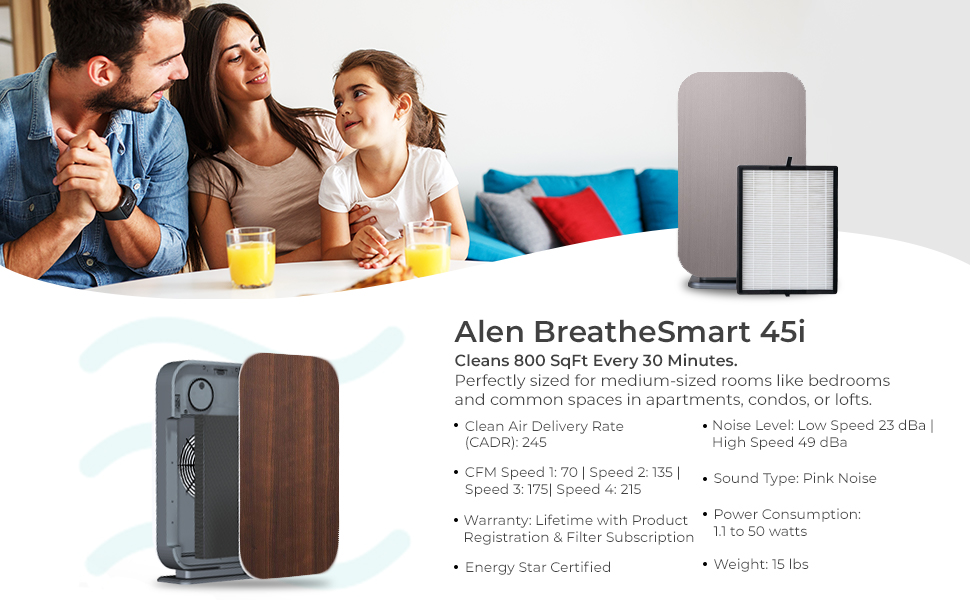 family air purifer for family room cleans air smoke wildfire smoke heavy duty air filter for smoke