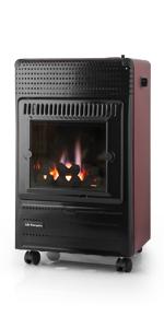 estufa exterior, butano, calefactor orbegozo, orbegozo, estufa de gas butano, estufa catalitica