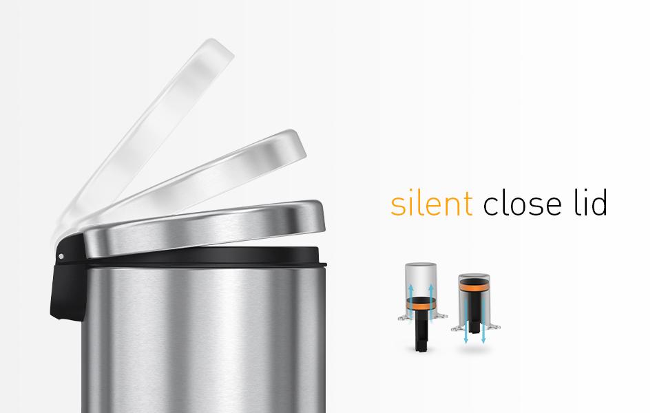 silent close