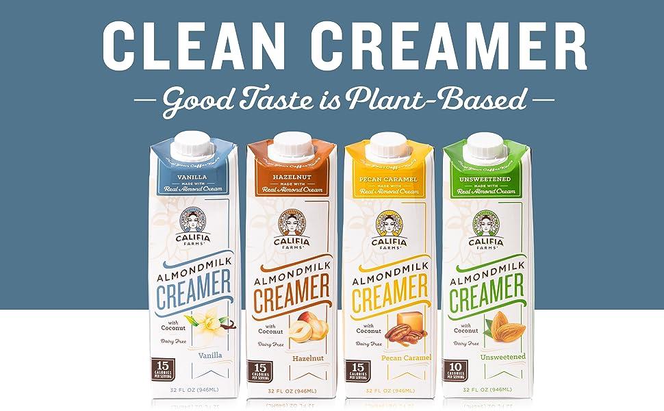 Almondmilk, Oat, Plant Milk, Cold Brew, Coffee, Creamer, Dairy Free, Yogurt, Half, Coconut, Nitro