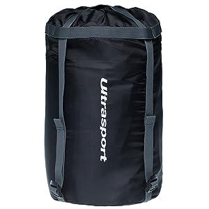 OS Ultrasport 331500000694 Bolsa De Compresi/ón Negro Uni