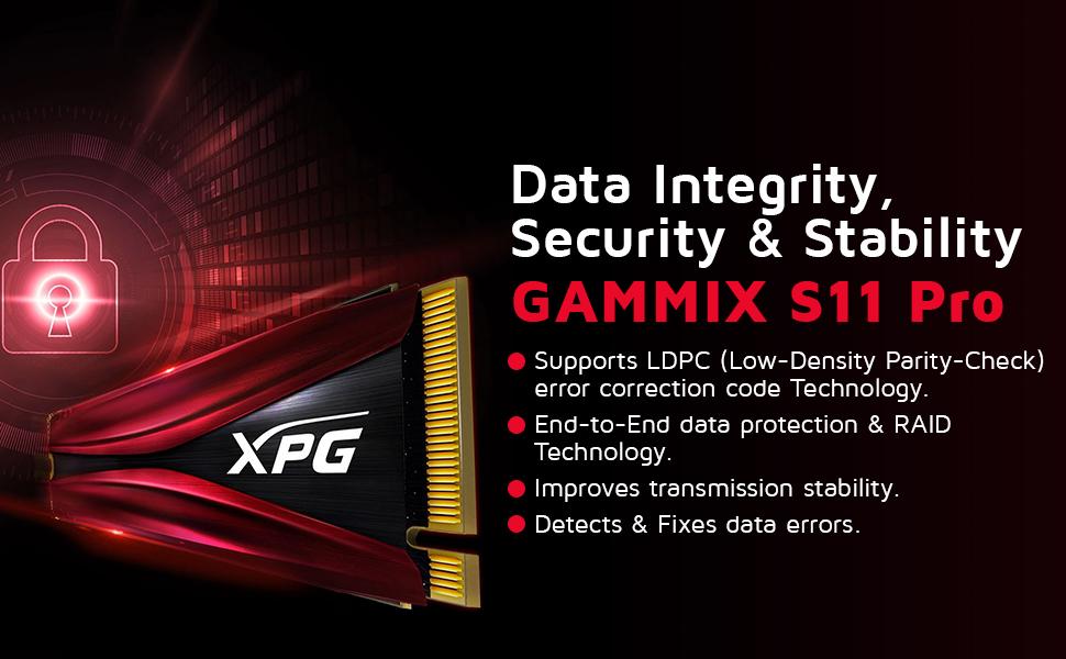A-DATA XPG GAMMIX S11 Pro 256GB PCIe  SPN-FOR1