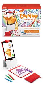 Creative Starter kit for fire tablet education toys