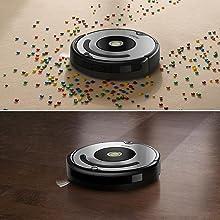 Irobot roomba 615 robot aspirador para suelos duros y alfombras con tecnolog a dirt detect - Robot aspirador alfombras ...