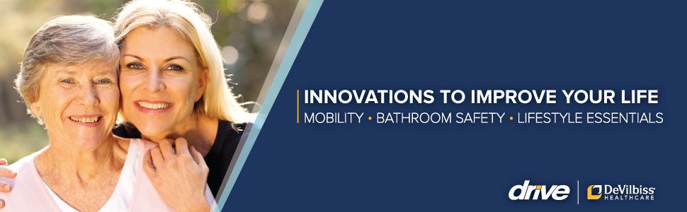 Innovations to Improve Your Life: Mobility, Bathroom Safety & Lifestyle Essentials