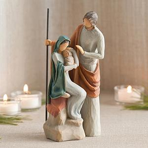 Willow Tree Holy Family, Willow Tree Nativity, Nativity Set, Nativity Figurines