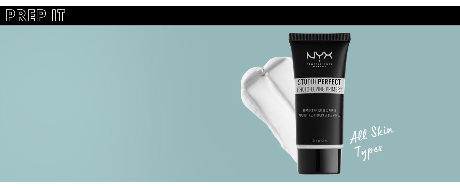 nyx studio perfect primer face primer
