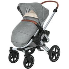 Maxi-Cosi kuschelig weicher 2-in-1 Fu/ßsack grau geeignet f/ür alle Kinderwagen auch als Sitzpolster verwendbar