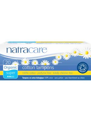 Natracare Organic Super Tampons