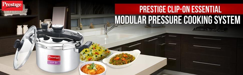 Prestige non-stick cookware pressure cooking system