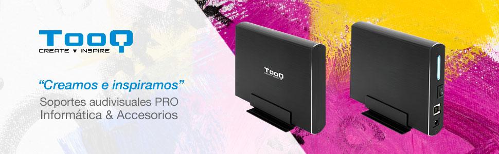 TooQ TQE-3531B - Carcasa para Discos Duros HDD de 3.5