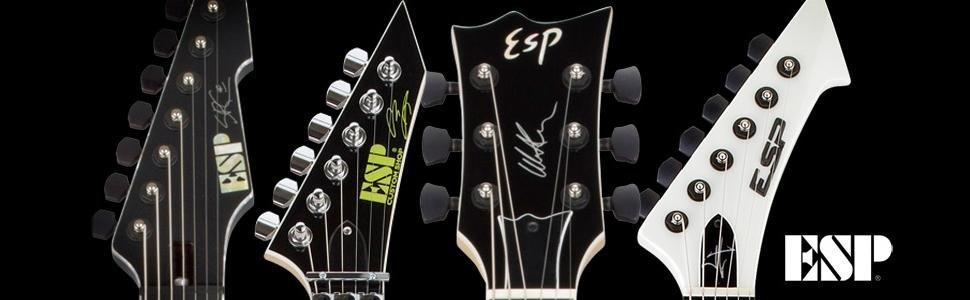 Esp Ltd Gh 600 Signature Series Gary Holt Electric Guitar With Case Black