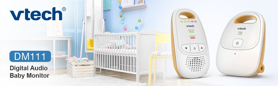 VTech DM111 digital audio baby monitor