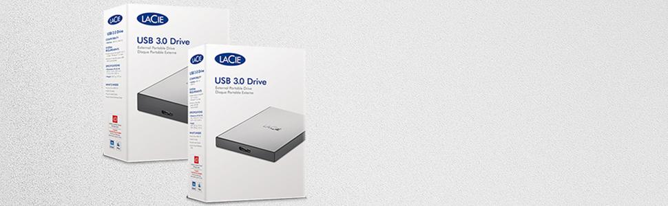 Lacie Usb 3 0 Drive 4 Tb Tragbare Externe Festplatte Amazon De Computer Zubehor