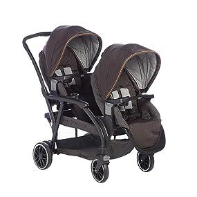 Graco Modes Duo Pushchair Black Gray Amazon Co Uk Baby