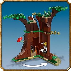 1 x LEGO® Der Verbotene Wald Figur aus Set 75967 Centauer Pferdmensch Neuware