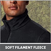 Soft filament fleece