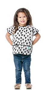 toddler sleeve bib