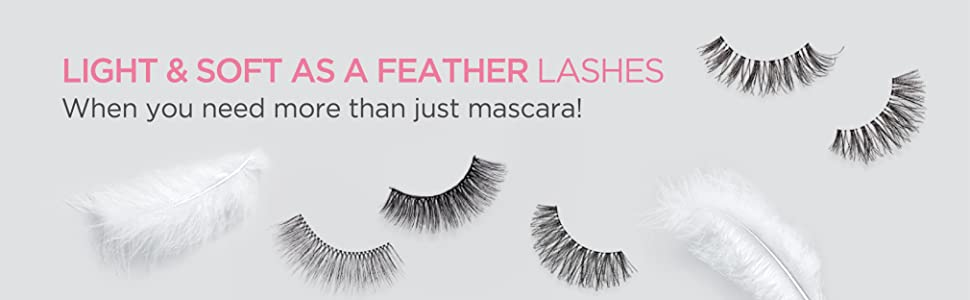 KISS Looks So Natural Natural Effect Feather Lashes