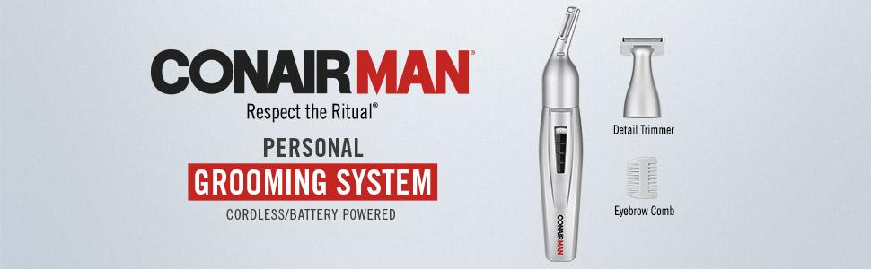 conairman beard trimmer beard kit ear trimmer nose trimmer men trimmer