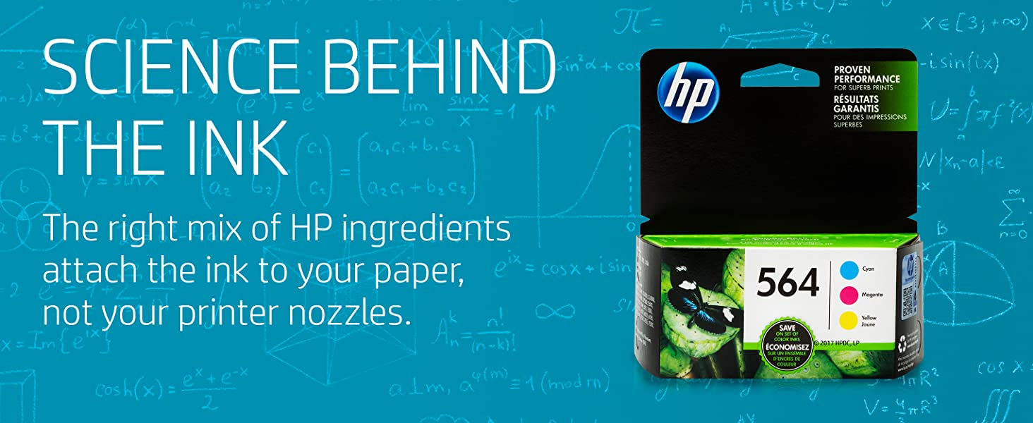 science behind ink Designed to work the first time every time HP manufactures high quality ink