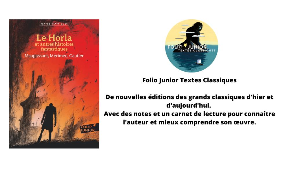 Amazon Fr Le Horla Et Autres Histoires Fantastiques Gautier Theophile Maupassant Guy De Merimee Prosper Blain Christophe Livres