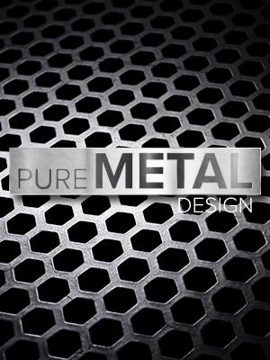 Pure Metal Design Metallgehäuse