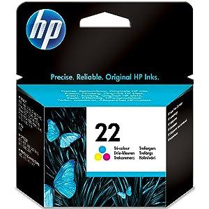 HP ,22 ,Tri-color ,Original ,Ink ,Cartridge, C9352AE