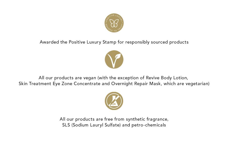 responsiblty sourced, sls free,aromatherapy associates, essential oils, natural, vegan, vegetarian,