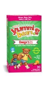 original gummy vitamins omega 3 fruit pectin