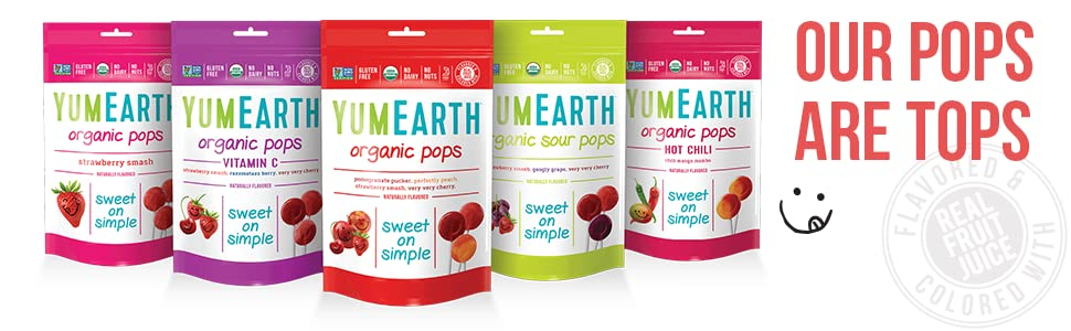 YumEarth Organic Lollipops ONL...